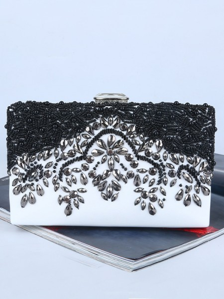 Graceful Rhinestone Handbags